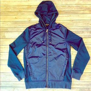 Michael Kors blue zip up hoodie size medium